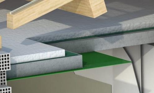 Plafond tendu en PVC