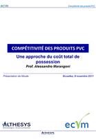 Etude TCO. La compétitivité des produits PVC